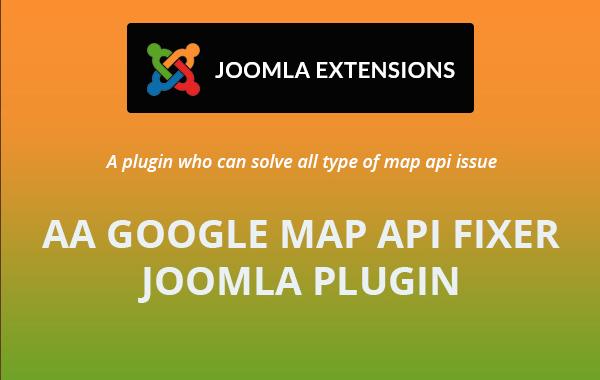 Google Map Api plugin For Joomla