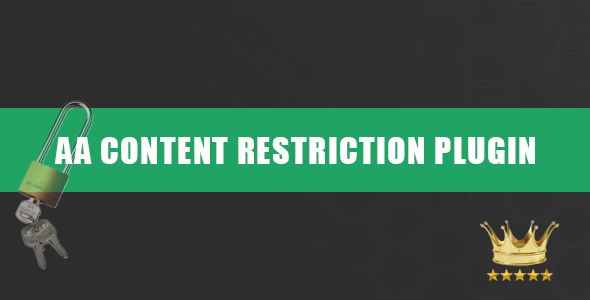 AA CONTENT RESTRICTION PLUGIN