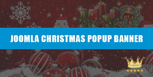 AA Christmas Popup Banner Module Pro
