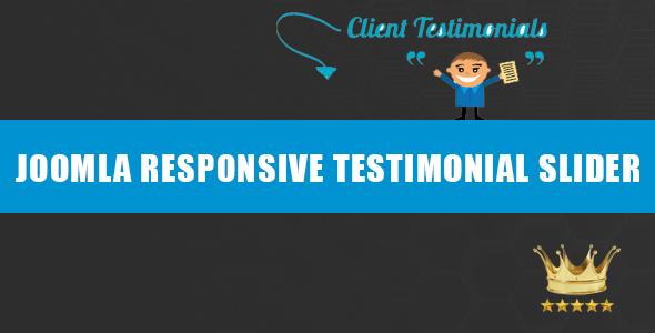 AA Responsive Joomla Testimonial Slider