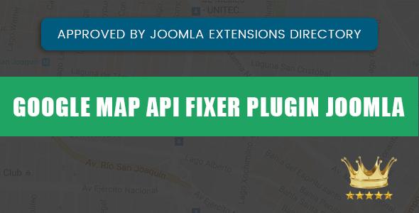 JOOMLA GOOGLE MAP API FIXER PLUGIN