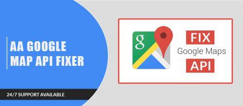 AA Google Map Api Fixer for joomla