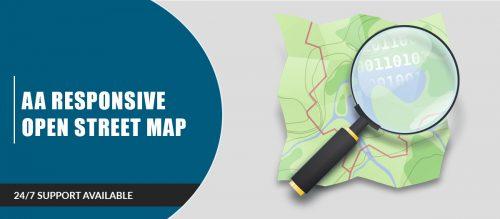 AA Responsive Open Street Map