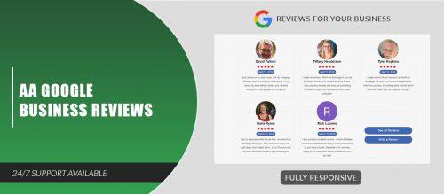 AA Google Business Reviews