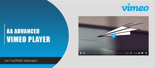 AA Advanced Vimeo Player