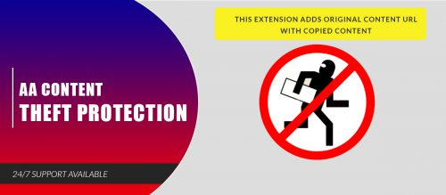 AA Content Theft Protection
