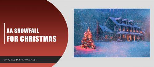 AA Snowfall for Christmas