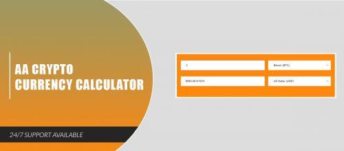 AA Crypto Currency Calculator