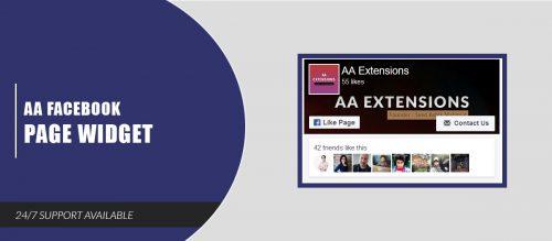 AA Facebook Page Widget