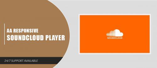 AA Responsive Soundcloud Player