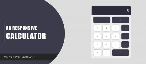 AA Responsive Calculator