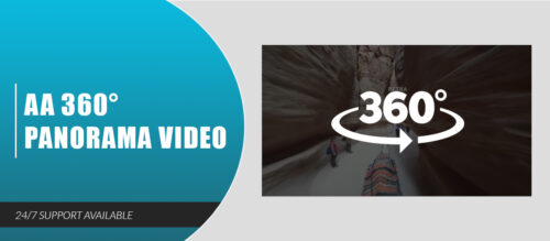 AA 360° Panorama Video