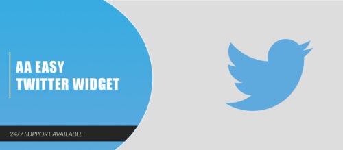 AA Easy Twitter Widget