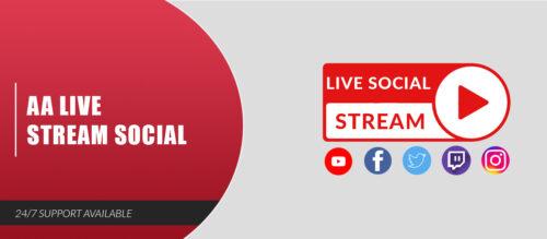 AA Live Stream Social